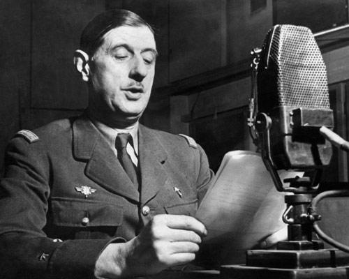 ...κι ο de Gaulle το είχε...